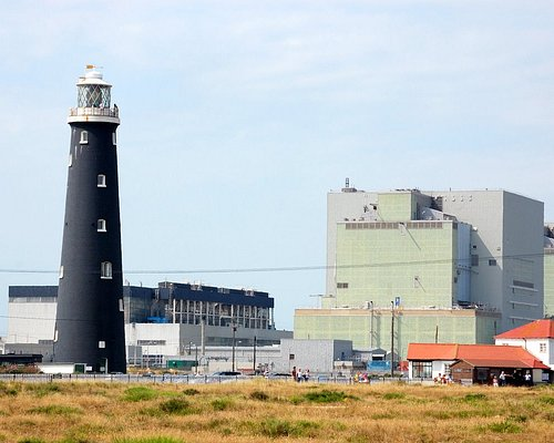 Lighthouse and Dungeness Power Station