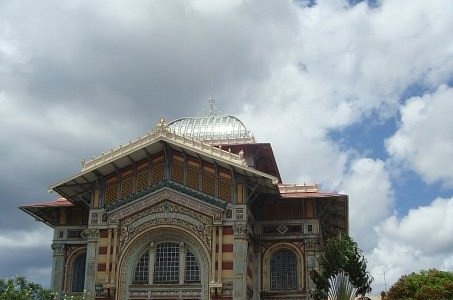 Schoelcher Library, Fort-de-France, Caribbean