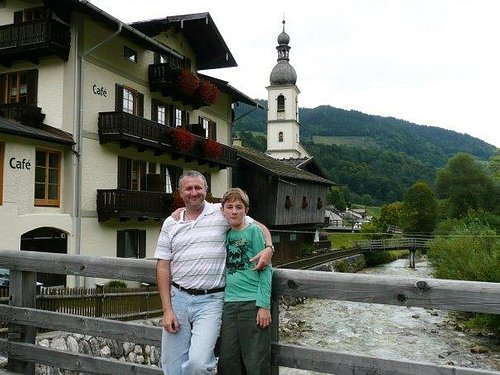 Me and Connor at Ramsau