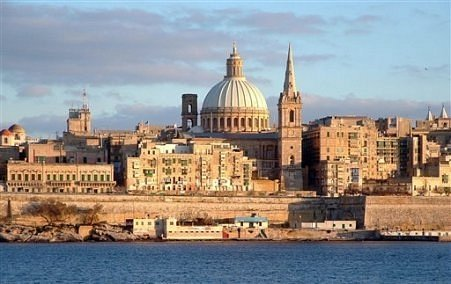 Valetta, Malta.  Where I married the love of my life.
