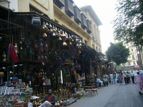 Cairo markets....shopping nightmere!