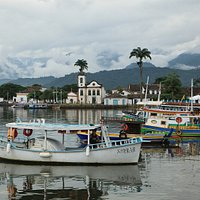 View to Paraty from the port