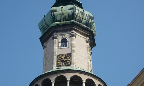 The top section of the Tower