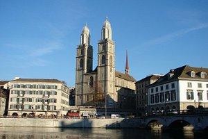 Switzerland Zurich Grossmunster church