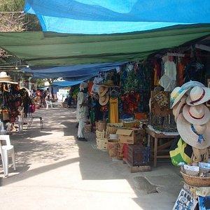 Craft market in Ochos Rios