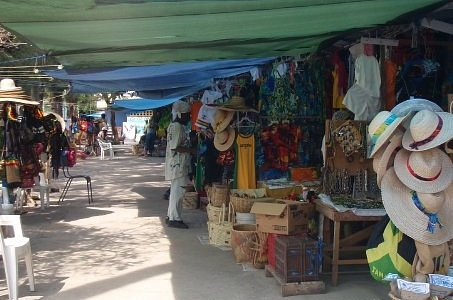 Craft market in Ochos Rios
