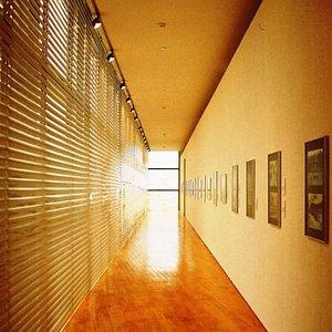 Corridor in the Macau Art Museum