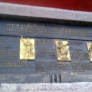 Mexico Jardin de la Triple Alianza