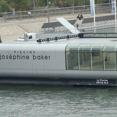 Vue de la piscine Josephine Baker