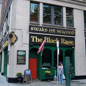 First place we went for lunch.  Won all sorts of awards - like best Irish food in Boston!