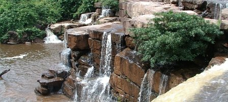 Main Waterfall Face