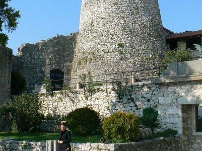 The castle in Rijeka....