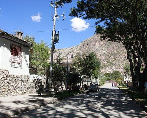 Calle Berriozabal, la más linda de Urubamba