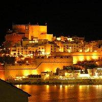 PENISCOLA CAstillo, Spain at night