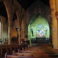 Interior of Garrison Church