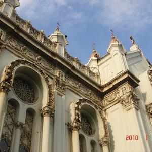 One Façade of the Church