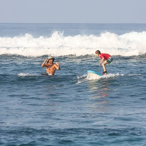 surfer bear with my 9 yr. old