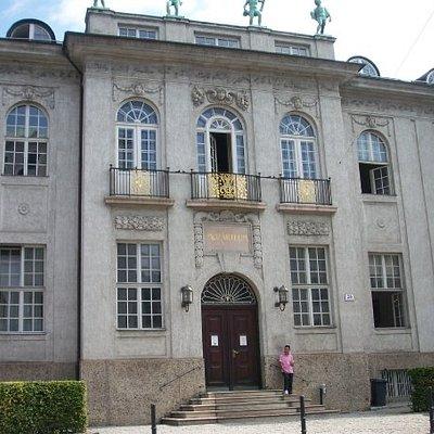 Salzberg, Austria....Mozart museum