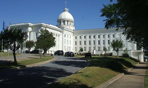 The state capital building