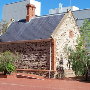 Courtyard of Migration Museum