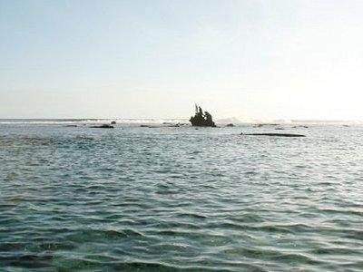 Mahebourg, Africa, wreck of the Dalblaire