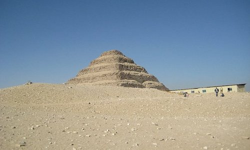 First pyramid in Egypt, the Step Pyramid of Djoser