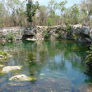 Collapsed Cenotes (under ground river)
