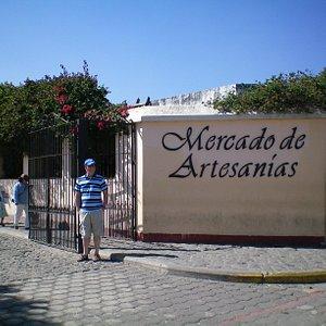 Entrance to the Mercado de Artesanias