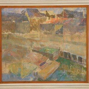 Ruth Smith, Oil Painting of Nyhavn in Copenhagen
