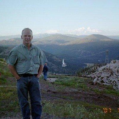 My Hubby when we were in Lake Tahoe