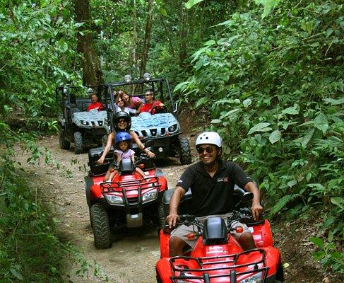 Adventure Tours Costa Rica:  Full Day ATV Tour Del Rey