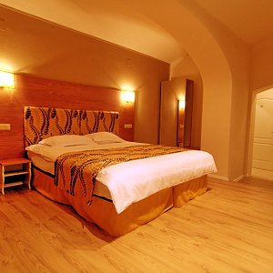 Double bed room first level