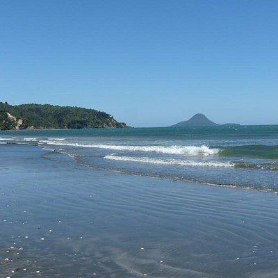 Ohope Beach with Motuhora Island Views