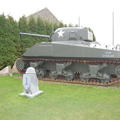 Sherman Tank on Grounds