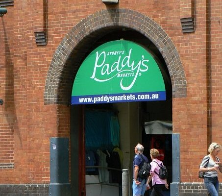 entrance to Paddy's Market