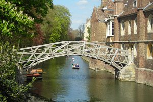 A bridge over the river Cam  (Cambridge)