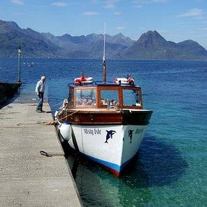 Misty Isle setting off for Coruisk