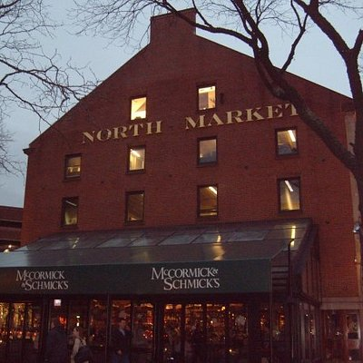 The North Market that was taken while walking around deciding on food