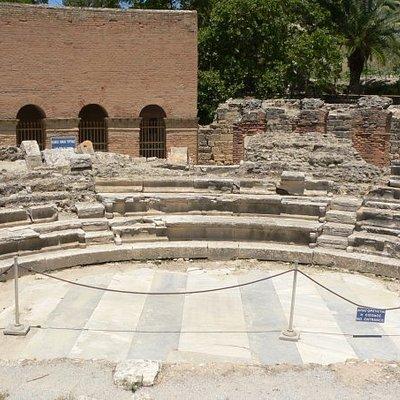 Theater, Gortyna, Crete