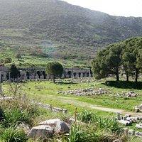 the Tetragonos Agora