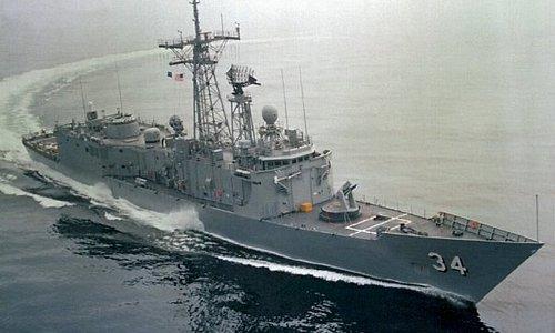 2nd ship,USS Aubrey Fitch,frigate FFG 1984-86 Mayport,Fla