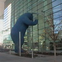 The Big Bear at the Colorado Convention Center.