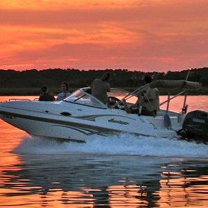 Boating with Live Oac in Hilton Head Island