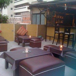 Cute, loungey atmosphere