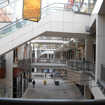 Le Denver Pavilions: un immense centre commercial en pleine air, j'ai même pas eu le temps de fa