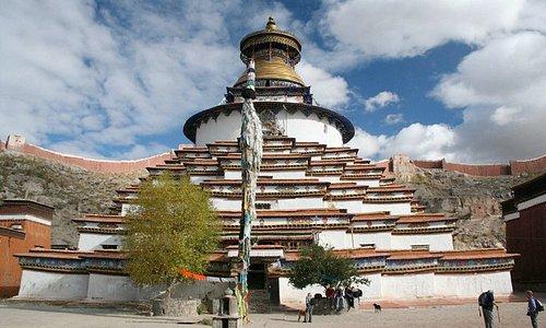 Gyangze County, TibetThe Kumbum-stupa