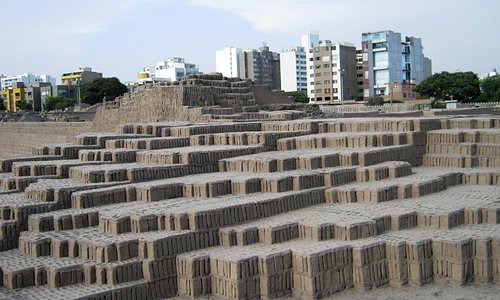 Huaca - in the heart of the city