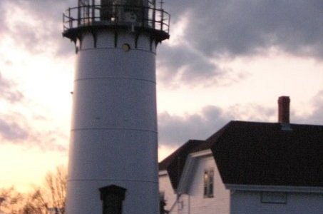 I love lighthouses,it was just getting dark when we go here, very pretty there.