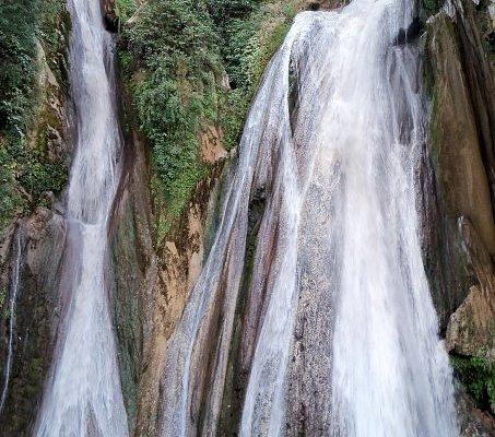 Gushing waters of Kempty Fall