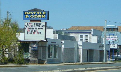 Exterior of Bottle & Cork